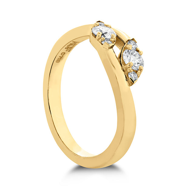 Hearts On Fire Regal Two Diamond Ring