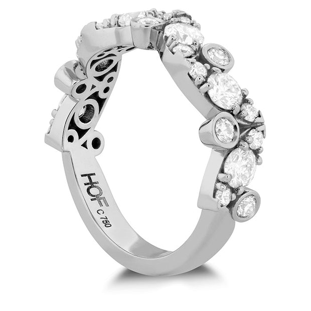Hearts On Fire Bezel Regal Diamond Ring