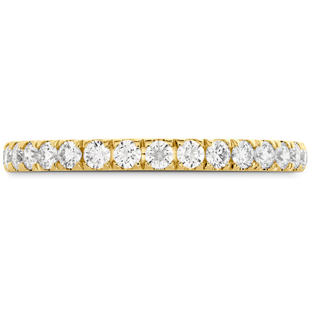 Hearts On Fire Signature Bezel Basket Diamond Band