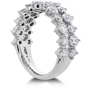 Hearts On Fire Timeless Two Row Diamond Ring