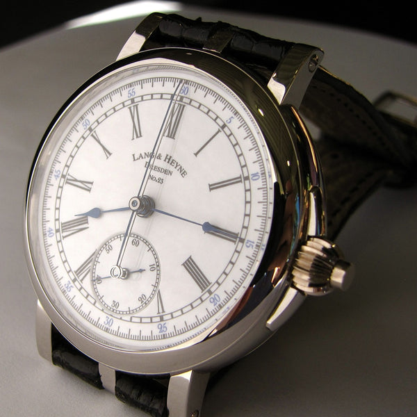 Lang & Heyne Platinum Albert Chronograph Watch