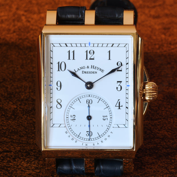Lang & Heyne 18K RG Georg watch
