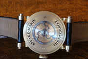 Estate Piece Unique early 18K RG Speake-Marin Guilloche dial 38mm watch