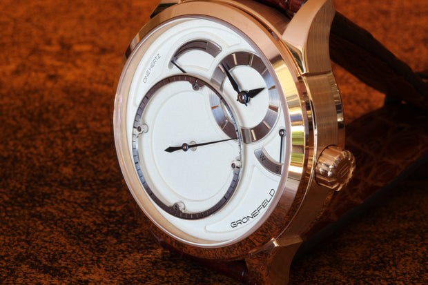 Grönefeld One Hertz 18K RG watch