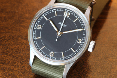 "Habring2 Chrono ""COS ZM Pilot"" on Nato strap"