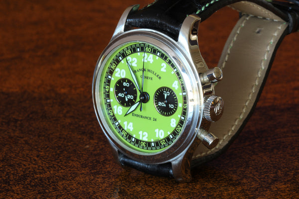 Estate SS Franck Muller Endurance 24 chronograph watch