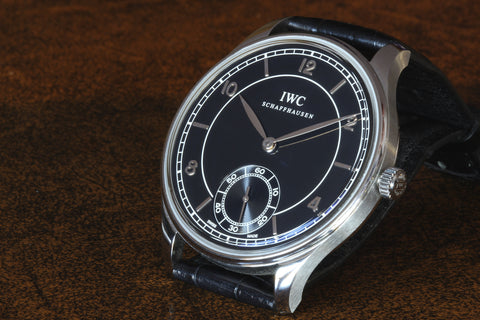 Estate SS IWC Portuguese HW IW5445-01 Watch