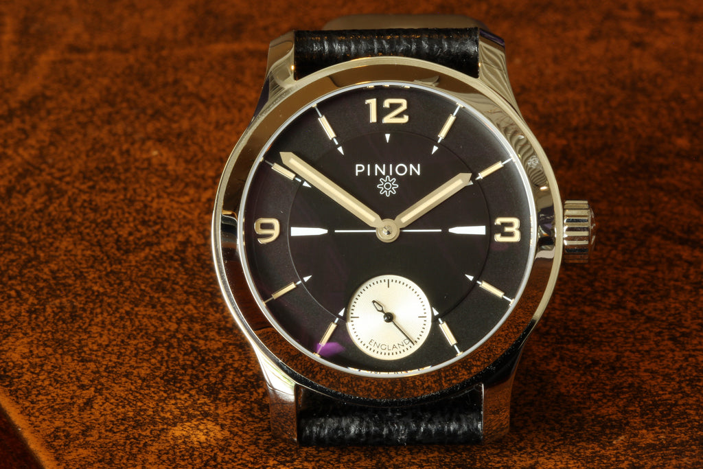 pinion how brand a forming designer revival piers young watch suave berry created features british watches