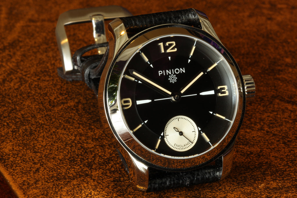 created how british berry suave pinion a revival designer forming watch brand features watches piers young