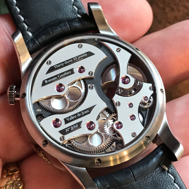 Romain Gauthier Insight Micro Rotor Watch
