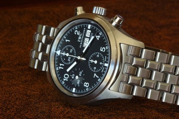 Estate SS IWC Flieger Chronograph IW3706-07 Watch