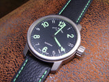 Estate Titanium Paul Gerber Model 42 Synchron watch