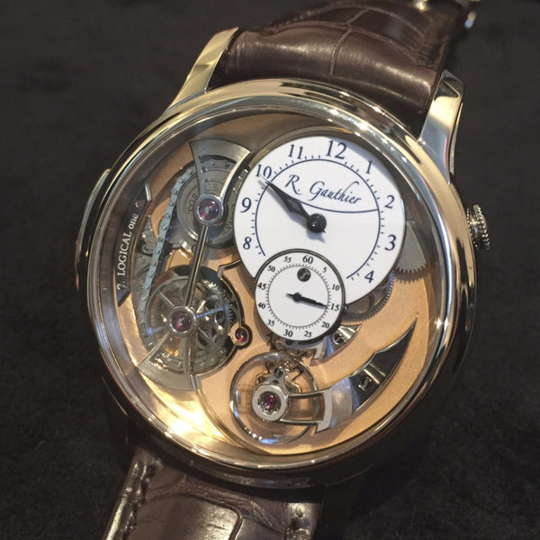Romain Gauthier 18K WG Logical One Watch