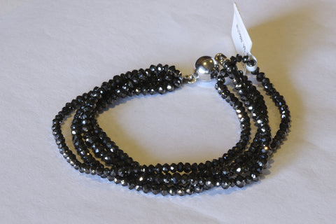 Passion Collection MidNight black diamond Bracelet