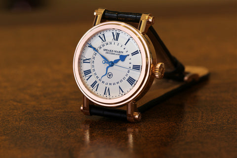 Speake-Marin J Class 18K RG Serpent Calendar Watch