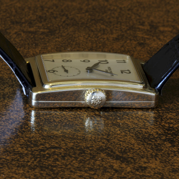 Estate 18K YG Patek Philippe Gondolo watch