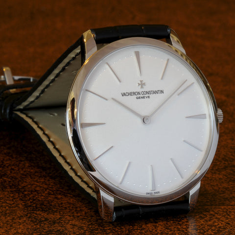 Estate 18K WG Vacheron Constantin Patrimony watch