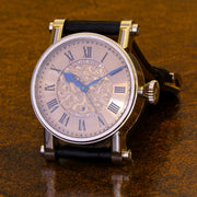 Estate 18k WG Speake-Marin Piccadilly engraved dial watch