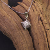 Passion Collection 18K WG rough diamond pendant