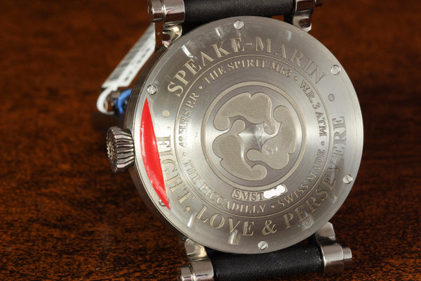 Estate Speake-Marin Ti Spirit Wing Commander Blue Watch