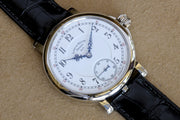 Lang & Heyne 18K WG Friedrich August 1 watch