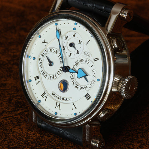 Estate 18k WG Speake-Marin 1 in 20 Perpetual Calendar watch