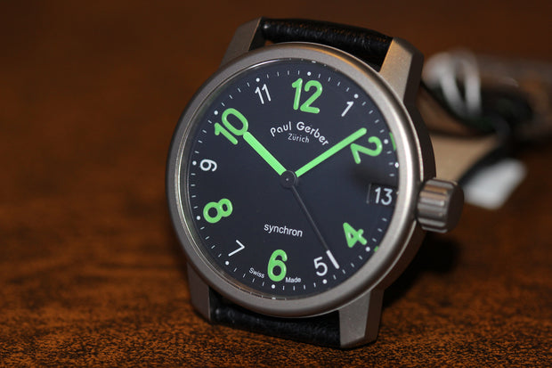 Paul Gerber Model 42 Synchron Watch