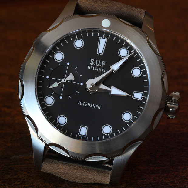 "SUF Helsinki ""Vetehinen"" 300m dive watch"