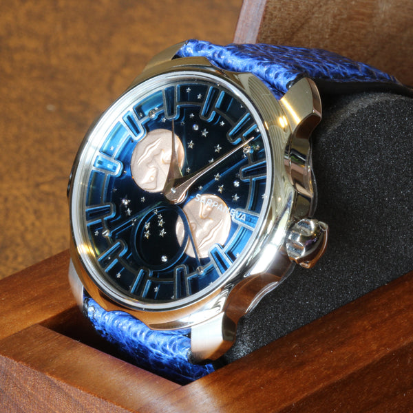 Estate one of only ten pieces, the Sarpaneva Northern Lights watch