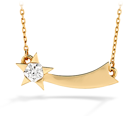 Hearts On Fire Illa Single Diamond Comet Necklace