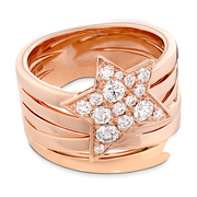 Hearts On Fire Illa Wraparound Comet Diamond Ring