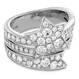 Hearts On Fire Illa Wraparound Diamond Comet Ring