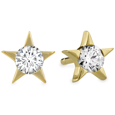 Hearts On Fire Illa Diamond Stud Earrings