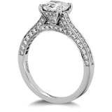 Hearts On Fire Illustrious Dream Engagement Ring Diamond Intensive Band