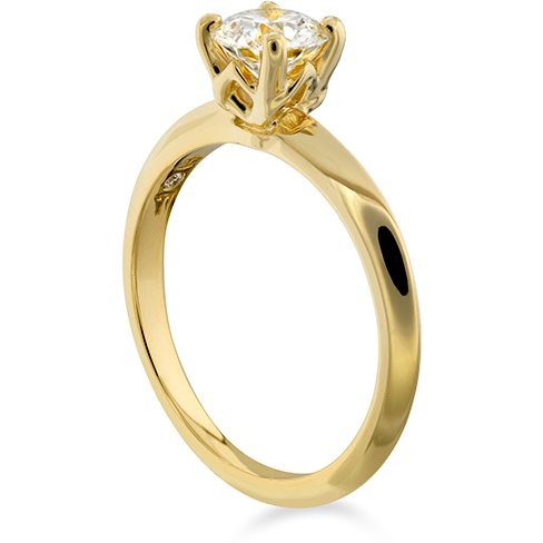 Hearts On Fire Insignia Solitaire Engagement Ring