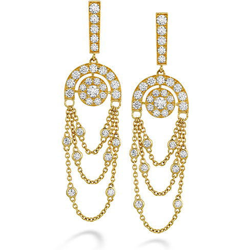 Hearts On Fire Inspiration Chandelier Diamond Earrings