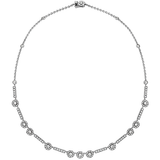 Hearts On Fire Inspiration Single Halo Necklace