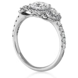 Hearts On Fire Integrity Three Stone Engagement Ring