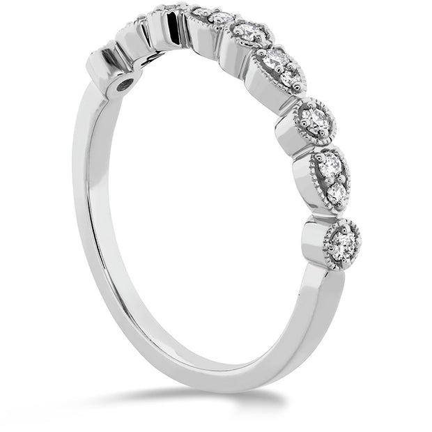 Hearts On Fire Isabelle Teardrop Milgrain Diamond Band