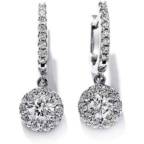 Hearts On Fire Fulfillment Diamond Drop Earrings