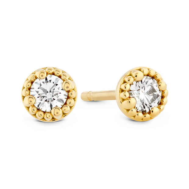 Hearts On Fire Liliana Milgrain Single Diamond Earrings