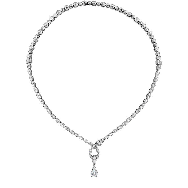 Hearts On Fire Lorelei Floral Convertible Diamond Necklace