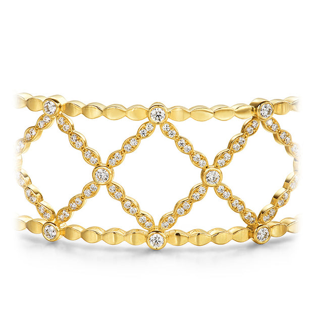 Hearts On Fire Lorelei Lattice Diamond Bangle