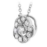 Hearts On Fire Lorelei Bloom Pendant Necklace