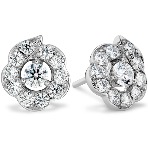 Hearts On Fire Lorelei Bloom Stud Diamond Earrings