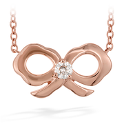 Hearts On Fire Lorelei Bow Necklace
