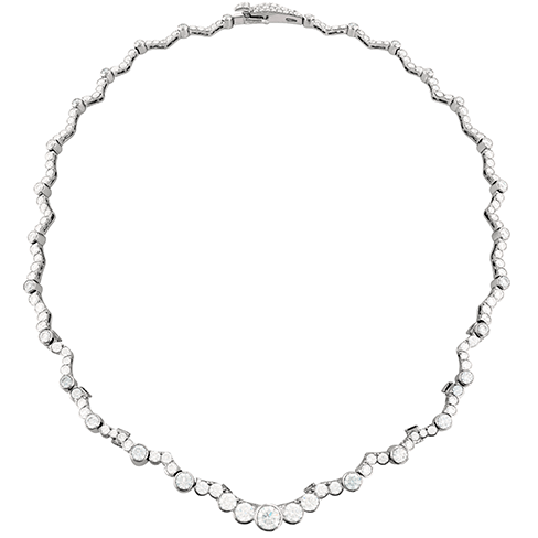Hearts On Fire Lorelei Chandelier Diamond Line Necklace