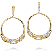 Hearts On Fire Lorelei Circle Diamond Earrings