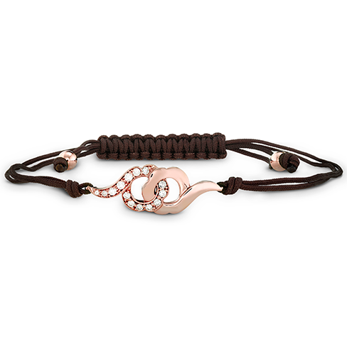 Hearts On Fire Lorelei Cord Bracelet