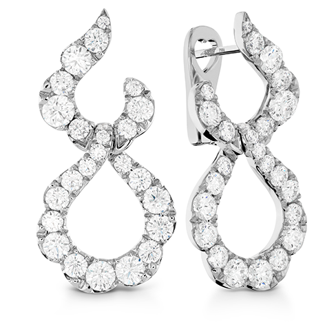 Hearts On Fire Lorelei Crescent Diamond Drop Earrings